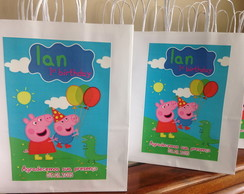 Kit Festa Peppa Pig e George