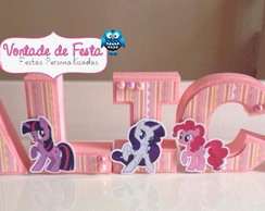 Letras 3d My Little Pony 2