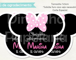 Tag Especial - Minnie Rosa