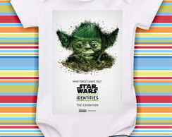 Body Star Wars - Mestre Yoda Verde