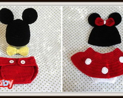 Kit Mickey e Minnie para G�meos