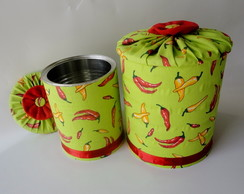 Latas decorada- vendida
