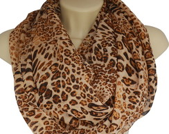 Infinity Scarf Large Animal Print