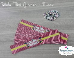 R�tulo Mini Guaran� - MINNIE