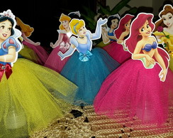 Tubetes decorados Princesas