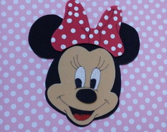 aplique cabe�a minnie