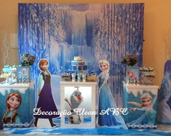 Decora��o Clean - Frozen Trio de Cubos