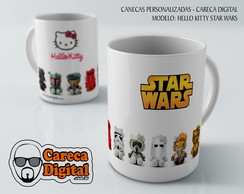 CANECA - HELLO KITTY STAR WARS