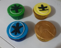 Cupcake do Power Ranger