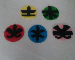 Capinha para Cupcake do Power Ranger
