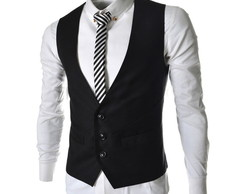 colete masculina social slim fit a pront
