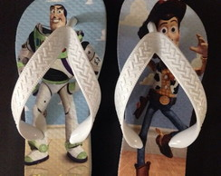 Chinelo Infantil Toy Story - Woody /Buzz