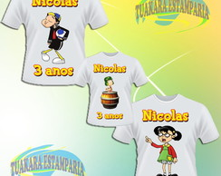 Kit Camiseta - Chaves