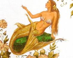 A Sereia e as flores ::