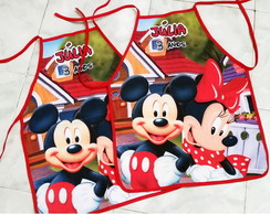 Avental Personalizado Mickey e Minnie