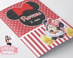 Kit Colorir - Minnie Vermelha