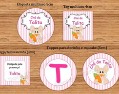 Kit Digital Coelhinho Ch� de Beb�