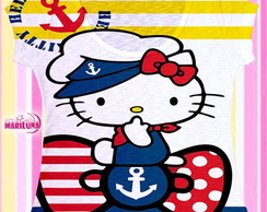 Camiseta Fullprint Hellokitty Navy Tee