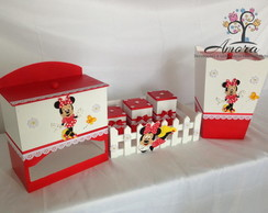 Kit Higiene de Beb� Minnie