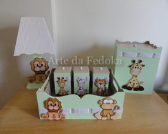 Kit de Beb� Safari com tecido