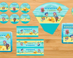 Kit Festa Impresso - Bubble Guppies