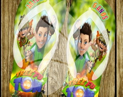 Chinelo Personalizado Tree Fu Tom