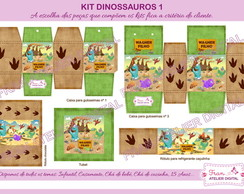 Kit Digital Festa Dinossauros 1