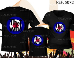 camiseta rock the who kit com 3