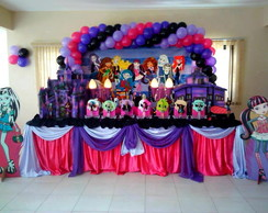 Decora��o Convencional - Monster High