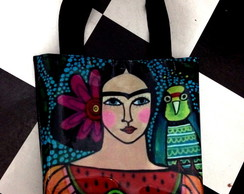 Bolsa de lona Frida color