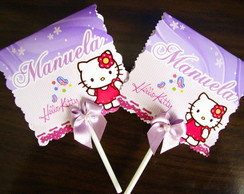 Pirulito Personalizado - Hello Kitty