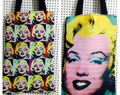 Bolsa dupla faceMarilyn Pop