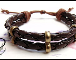 Pulseira basic brown