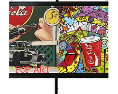 * MINI BANNER - POP ART - VINTAGE