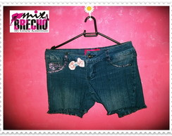 Shorts Jeans Customizado Infantil