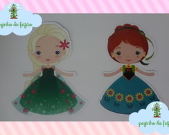 Aplique Frozen Fever Tubete