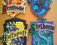 BRAS�ES HARRY POTTER - CASAS