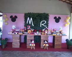 Decora��o Festa Mickey e Minnie