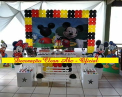 Decora��o Clean - Mickey