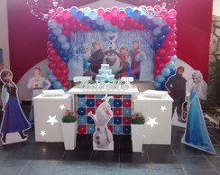 Decora��o Clean Tema Frozen
