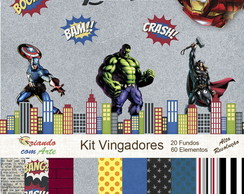 Kit Scrap Digital - Vingadores