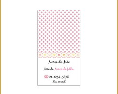 Mommy Card - Po�s Rosa