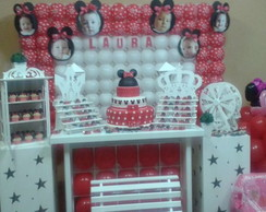 Decora��o Clean Minnie- Maria Festeira