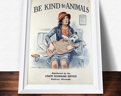 P�ster Kind to Animals