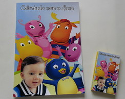 Kit Colorir Tema Backyardigans 14x20cm