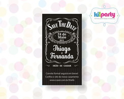 Save The Date Magn�tico 9x5cm Tema: Jack