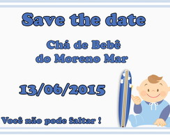 Save the Date Digital para imprimir