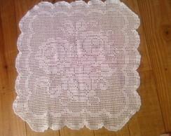Toalha Rosas em croch�