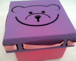 Mini caixa mdf decorada Infantil