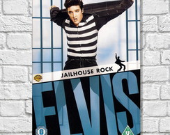 Placa Decorativa Rock - Elvis